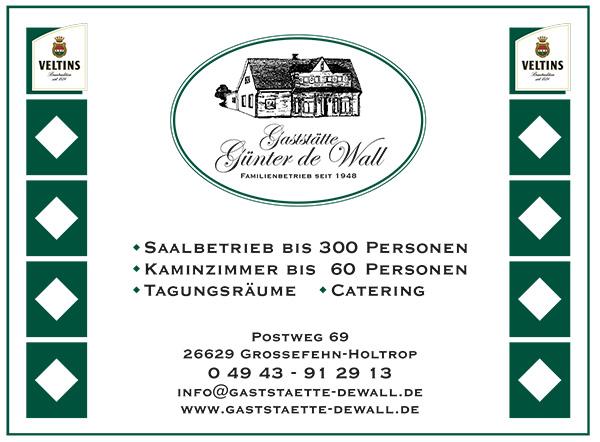 Gaststätte Günter de Wall