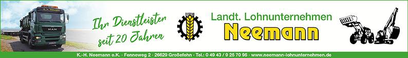 Karl-Heinz Neemann e.K., Landtechnisches Lohnunternehmen