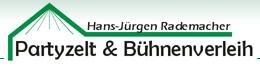 Partyzelt & Bühnenverleih - Hans-Jürgen Rademacher